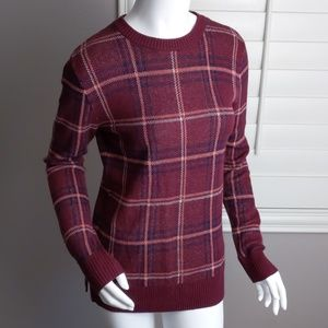 A New Day Plaid Sweater